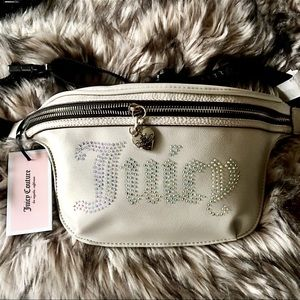 Juicy Couture London Grey Waist Belt Bag